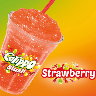 Calippo Slush Strawberry