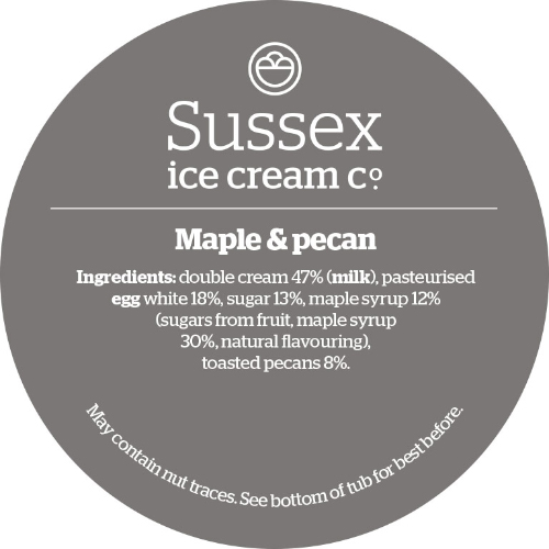 Sussex Toasted Pecan & Maple