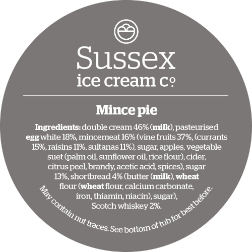 Sussex Luxury Mince Pie