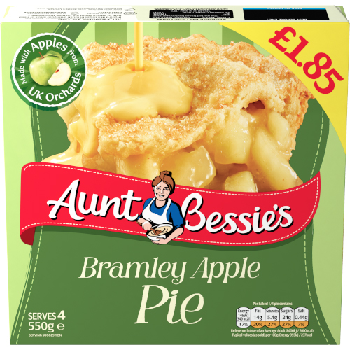 PM £1.85 Aunt Bessie's Apple Pie