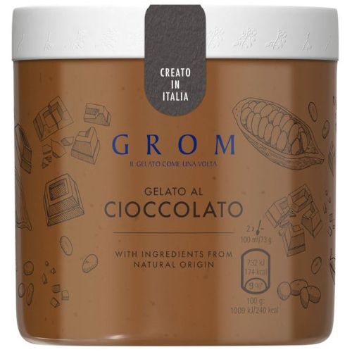 GROM Chocolate Monoportion Cups