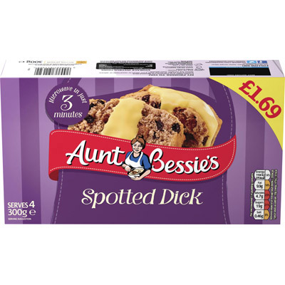 PM £1.69 Aunt Bessie's Spotted Dick