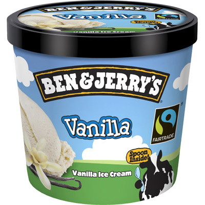 Ben & Jerrys Vanilla Cup_12x100ml_12.80_Impulse Ice Cream