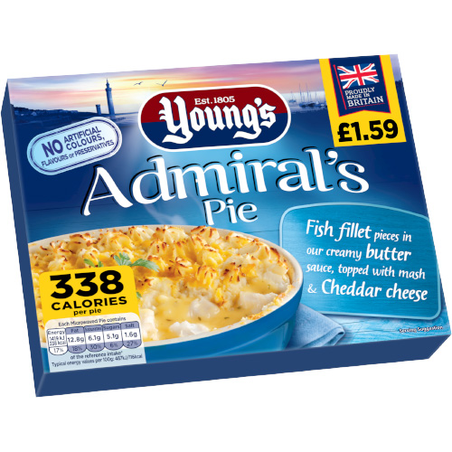 PM £1.59 Young's Admiral Pie