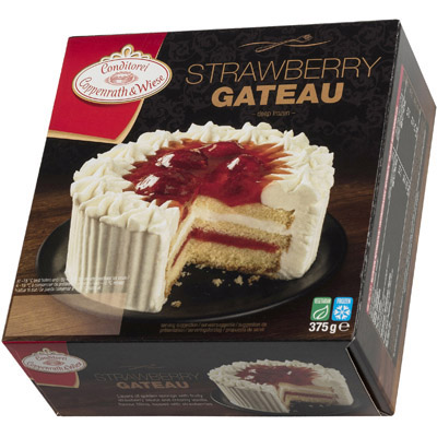 Coppenrath Strawberry Gateaux