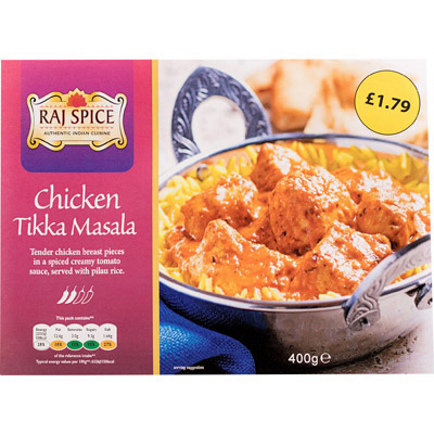 PM £1.79 Raj Chicken Tikka